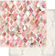 Heidi Swapp Magnolia Jane Double-Sided Cardstock 12X12 - Flea Market UTGÅENDE