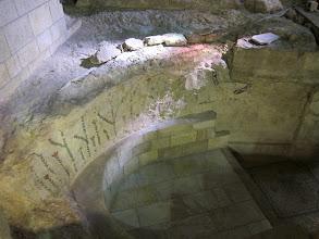 Photo: Frescos from original crusader church