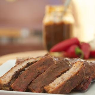 BBQ Ribs with Homemade Sriracha Sauce Recipe