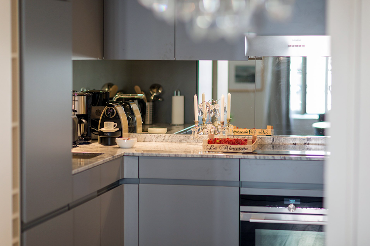 Fully equipped kitchen at Saint Place Dauphine Classic