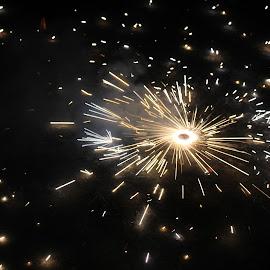 .... by Bibek Magar - Abstract Fire & Fireworks