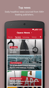Download Opera News - Trending news and videos For PC Windows and Mac apk screenshot 5