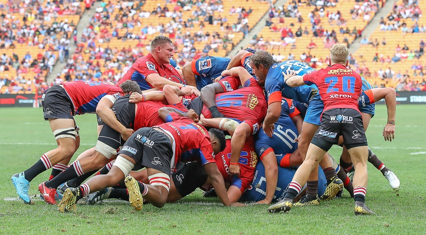 Lions turn to wrestling techniques ahead of Super Rugby