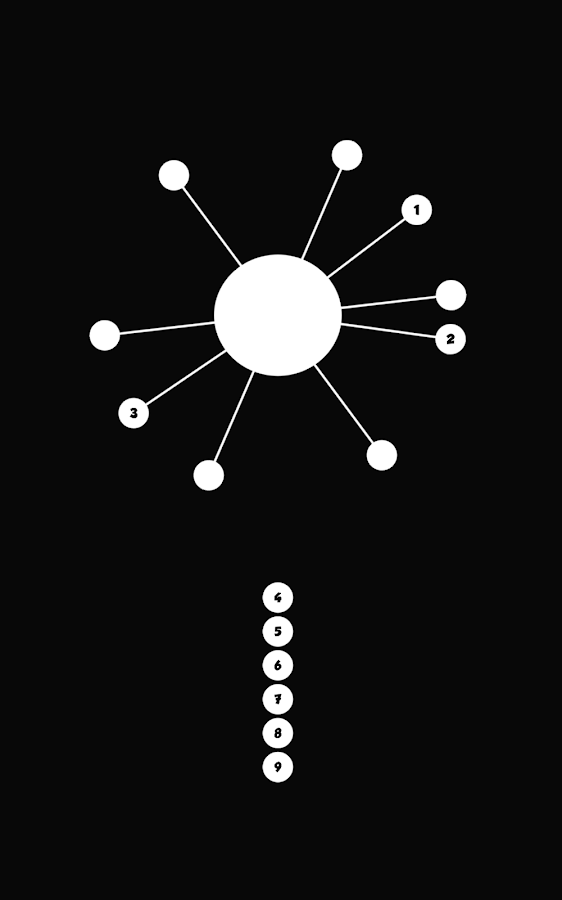 Impossible Twisty Dots Game- screenshot