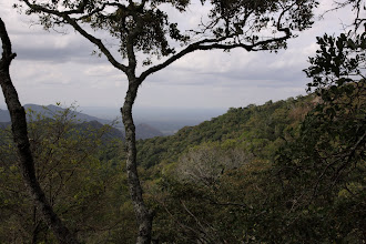 Photo: Different view from the same mountain - east this time - overlooking the Serara plains.