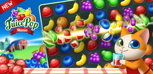 Alt image Juice Pop Mania: Free Tasty Match 3 Puzzle Games