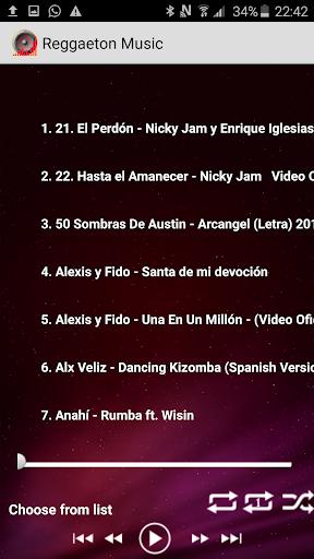 Download Top Reggaeton Musicas 2017 MP3 Google Play softwares