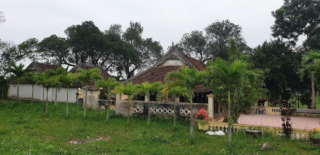 Di tích đền Hữu hiện nay