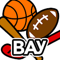 BAY sports: Pro Games & Scores icon