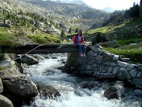 Photo: Manu en el puente.