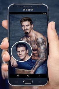Mustache Hairstyles For Men - náhled
