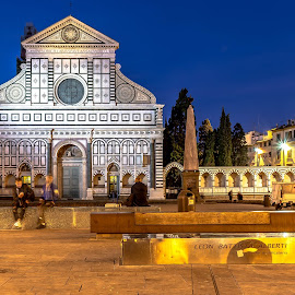 Santa Maria Novella and surroundings by Hariharan Venkatakrishnan - City,  Street & Park  Historic Districts