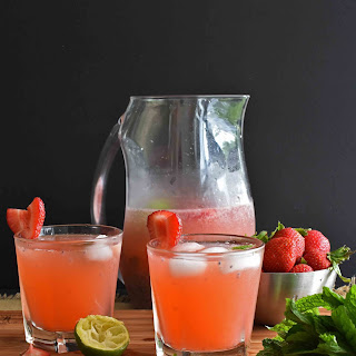 Strawberry Lime Cooler.