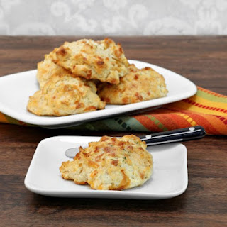 Cheese and Garlic Drop Biscuits