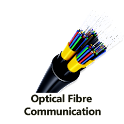 Fiber-optic communication icon