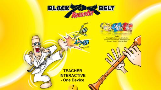 Black Belt Recorder Teacher