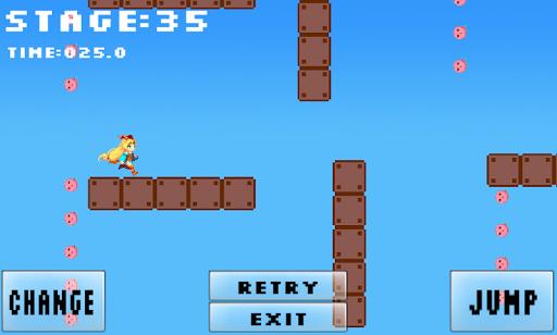 Unityちゃんのじゃんらん 切替:ジャンプ⇔ランニング