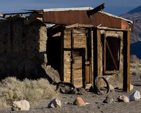 Photo: Ghost town of Ballarat, California