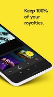 screenshot of Amuse Music Distribution