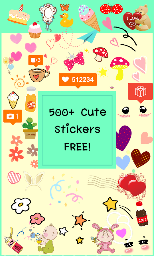 What Is the Best Kawaii Photo Editor with Cute Stickers?