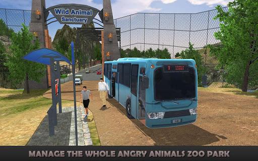 怒っている動物動物園パークSIM 17