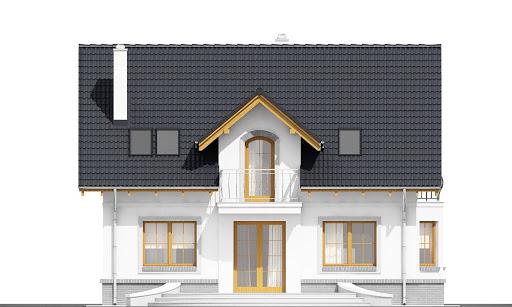 Dom Dla Ciebie 1 bez garażu B - Elewacja tylna