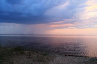 Photo: В дали идёт шторм на Онеге.