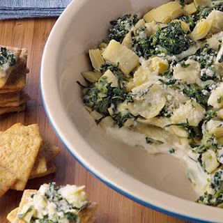 PHILLY Spinach Artichoke Dip.