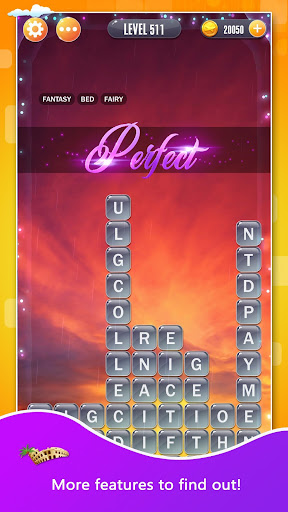 Word Town: Search, find & crush in crossword games  captures d'u00e9cran 4