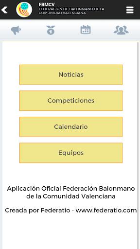 Competiciones - fbmcv