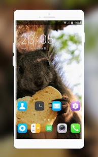 Theme for Intex Yuvi Plus Squirrel Wallpaper - náhled