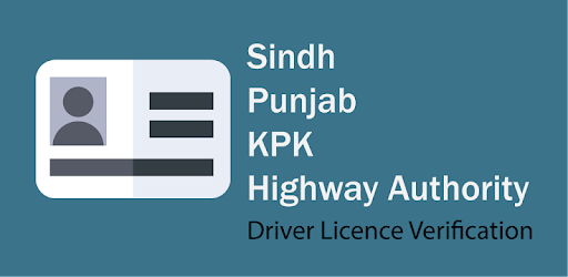 Sindh Driver License Verification - Apps on Google Play