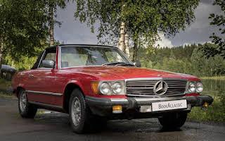 Mercedes-Benz Sl 450 Rent Akershus
