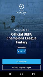 UEFA Champions League Fantasy Ekran Görüntüsü