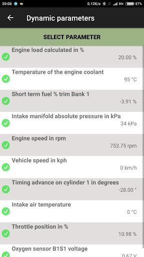 Car computer - Olivia Drive | OBD2 - ELM327 Screenshot