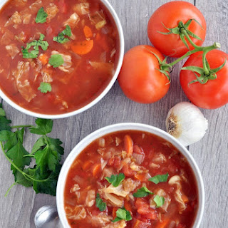 Slow Cooker Cabbage Soup.