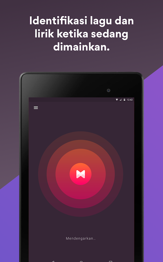 Musixmatch -  Lyrics & Music- tangkapan layar