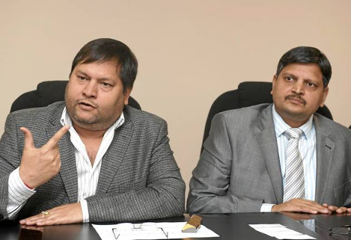 Ajay and Atul Gupta.
