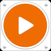 PlayerPro Skin Orange Flatty