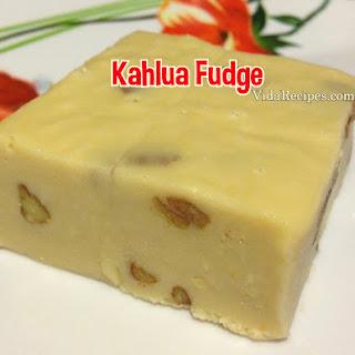Kahlua Fudge.