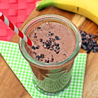 Banana & Cacao Milkshake.
