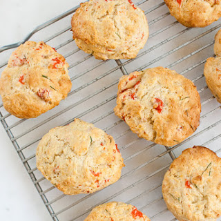 Smoked Salmon & Chive Biscuits