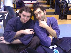Photo: Alvaro a mi izquierda se hace el interesante. Tampoco es un anuncio de keikogis.
