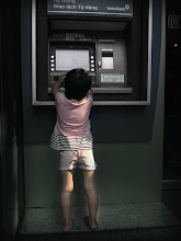 Photo: bank deposit....;-)  photo at Vietnam