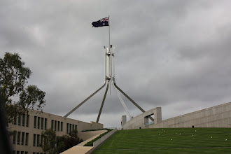 Photo: Year 2 Day 227 -  Parliament House in Canberra
