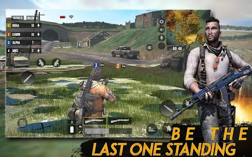 Epic Free Firing Survival Battlegrounds Shooting Screenshot