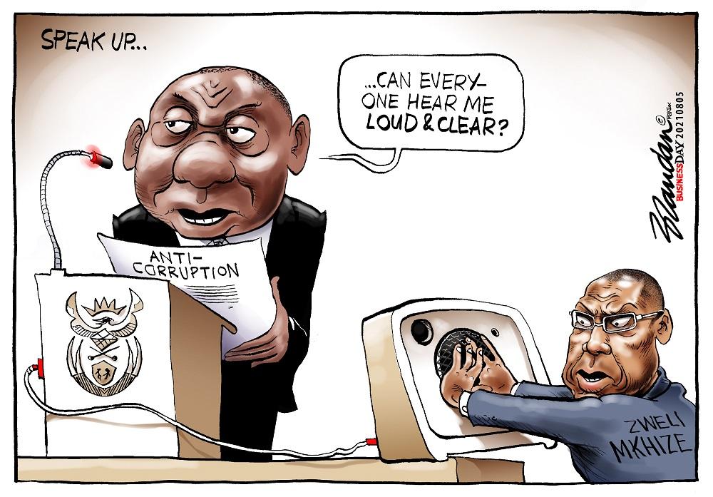 CARTOON: Speak up, Ramaphosa