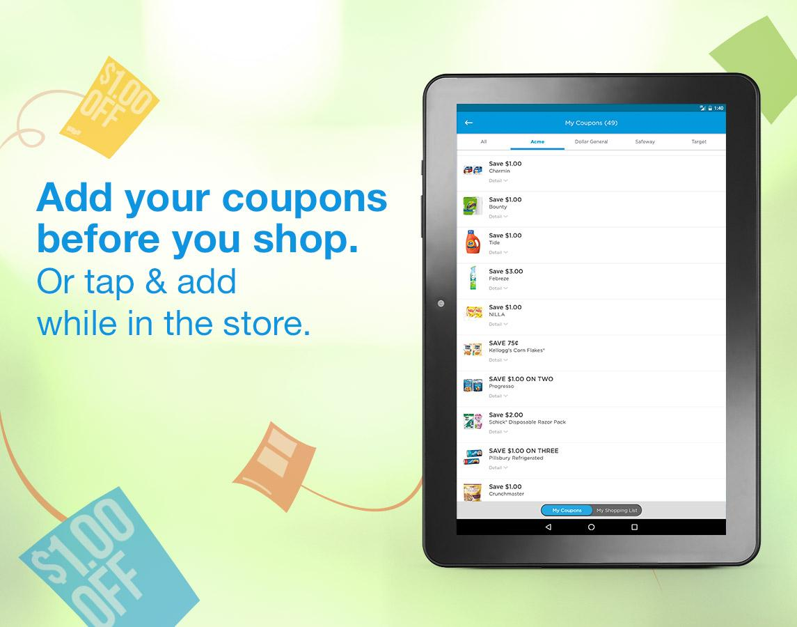 Free Paperless Grocery Coupons- screenshot