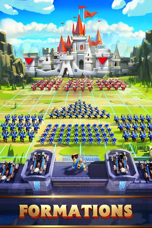 Screenshot 3 Lords Mobile: Battle of the Empires - Strategy RPG 1.84 APK+DATA MOD
