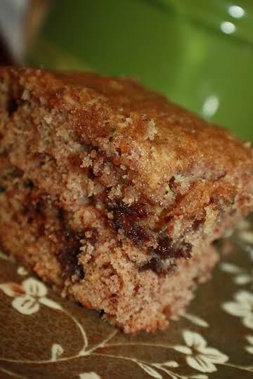 Super moist zucchini chocolate chip cake / bread!